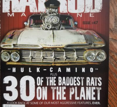 Issue #47 Rat Rod Magazine Feb 2018