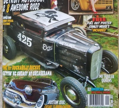 Ol' Skool Rodz Magazine Issue #83